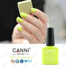 002 Canni Fresco Amarillo-Verde UV Led Soak Off Gel Colores Nail Art vendedor del Reino Unido