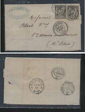 France  folded  letter    1977      KEL1127