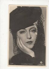 Dorothea Wieck Vintage RP Postcard Actress 568a