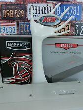 EMPHASER EA1300 MONO Auto KFZ Verstärker Endstufe  Amp mit 1 x 360 Watt RMS NEU