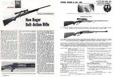 Sturm Ruger 1968 Model M77 Rifle- Outdoor Life Reprint