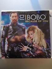 DJ BOBO - Because Of You Maxi CD im Papp-Cover