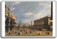 Canaletto – The Piazzetta classic art fridge magnet