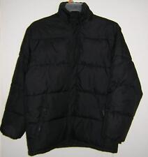 SPORTIER BLACK PUFFER DOWN FILL JACKET HOOD FALL WINTER SIZE YOUTH XL 18/20 EUC!