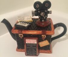 Tony Carter Vintage Hollywood Film Set Mini Teapot Made in England Numbered