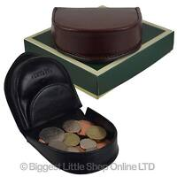 Mens Top Quality Leather Coin Tray by Visconti; Monza Collection Gift Boxed