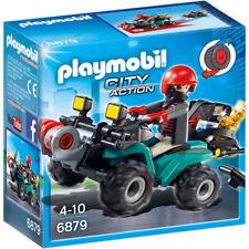 CJ6879 Quad con ladrón 6879 playmobil