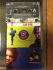Das Efx Dead Serious rare Cassette - EPMD Redman Def Squad fully tested Tape EX
