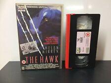 THE HAWK - EX RENTAL - Big Box - Large Box - VHS Tape #