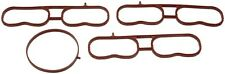 FITS 2002-2009 GM SUVS UPPER INTAKE MANIFOLD GASKET SET INCLUDES THROTTLE BODY