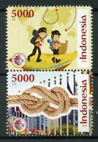 Indonesia Scouting Stamps 2019 MNH Scout Jamboree Knots Scouts 2v Set