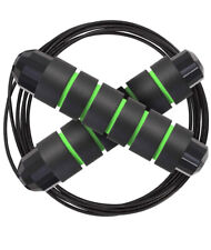 Skipping Rope, Flexible Jump Rope, Soft Memory Foam Handle Tangle Free Ajustable