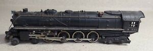 """American Flyer K 335 """"S""""  4-8-4 Union Pacific Challenger Steam Locomotive AS IS"""