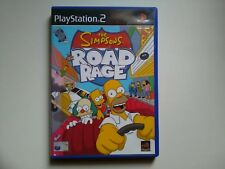 The Simpsons Road Rage - Playstation 2 PS2 Complete UK PAL