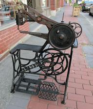 1800's BRADBURY Sewing Machine Floor Model Shoe Repair