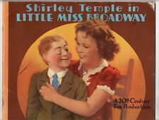Shirley Temple In Little Miss Broadway 1st Edition 1938