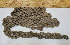 Vintage 16' Log Chain with No Hooks,Small link,9 lb. Upcycle Hanging Decor