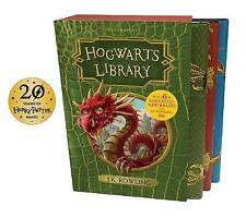 BESTSELLER The Hogwarts Library Box Set by J. K Rowling (3 HARDCOVER BOOKS 2017)