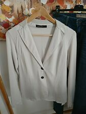 New Marc Cain grey designer blazer size UK 8