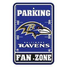 Fremont Die 92231 Plastic Parking Sign Baltimore Ravens