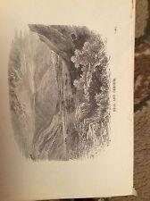 u1-3 ephemera 1890 religious book plate ebal and gerizim