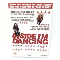 Inside I'm Dancing DVD [2004], James McAvoy, Makers of Billy Elliot Free P&P