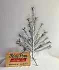 The Sparkler Pom-Pom Aluminum Christmas Tree - 3 ft. 25 branches M-325 - Spiral