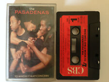 K7 CASSETTE AUDIO THE PASADENAS - To whom it may concern - VOIR Liste chansons