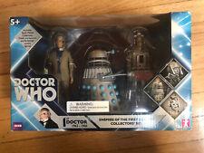 Doctor Who Enemies Of The First Doctor Collectors Set Roboman Dalek Cyberman Nib