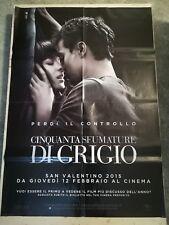 50 SFUMATURE DI GRIGIO Manifesto Film 2F Poster Originale Cinema 100x140