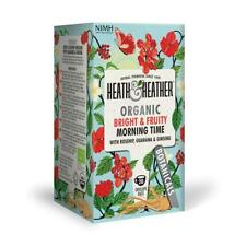 💚 Heath & Heather Organic matin heure de Botanique Infusion 20 bags