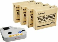 Canon marking plate ribbon IC cassette black 40m MK-RK40B 3606B001
