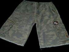 #7325 QUIKSILVER Camouflage Cargo Shorts Size 34