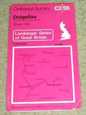 OS Ordnance Survey Landranger Map Sheet 124 Dolgellau