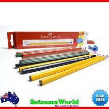 Faber Castell Eraser HB Pencils 12pcs set home school stationery student 1322