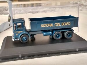 Oxford Die-cast 1:76 00 scale National Coal Board Leyland Tipper Lorry