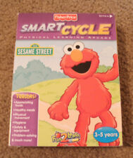 Fisher Price Smart Cycle Physical Learning Arcade Sesame Street Game Cartridge
