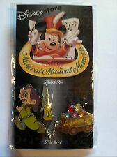 DISNEY STORE MAGICAL MUSICAL MOMENTS HEIGH HO DOPEY JEWELED PIN SNOW WHITE DWARF