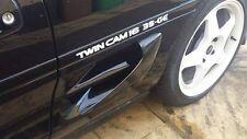 Toyota mr2 mk2 conductos laterales, orificios de entrada ADRs se adapta a todas las revisiones Nuevo bodykits