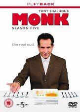 Monk Season 5 DVD R4