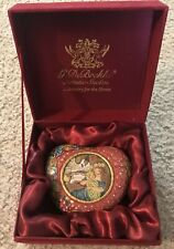 G.DeBrekht Artistic Studios Mother Love Swivel Heart  In Original Box. Pre-owned