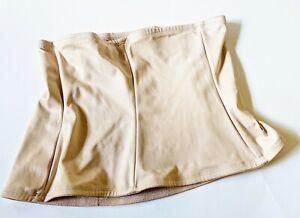 Cupid Women's Beige Boned Waist Body Cincher Shapewear 5806 Size 2XL