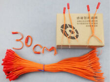 2000pcs 30cm yel wire for fireworks firing system-copper wire-connect wire match