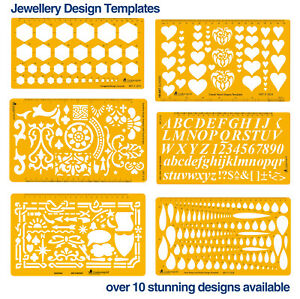 Cooksongold Jewellery Design Stencil Drawing Engineering Design Templates