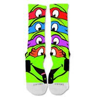 Nike Elite socks custom Teenage mutant Ninja Turtles