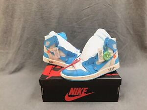 Off White Jordan 1 Unc Size 9.5 Dead Stock