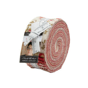 Moda Fabric La Rose Rouge by French General Layer Cake. 42 x 10 inch squares