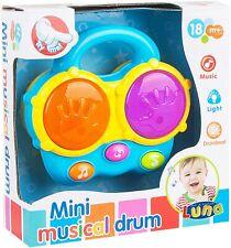 Luna Elektrische Mini Drum Set / Kinderspielzeug / Musik / Licht / Melodie /