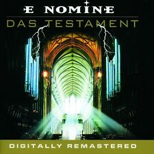 "E NOMINE ""DAS TESTAMENT"" CD REMASTERED NEUWARE"