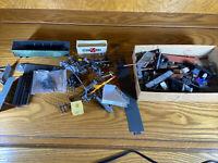 Random HO Train Parts Accessories Repair Lights RR Crossing